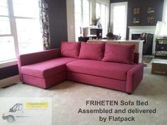 IKEA Friheten Sofa Delivered And Assembled By Flatpack In Upper Marlboro,  MD Www.flatpackservices