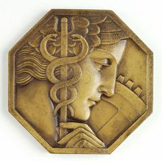 French Committee of Exhibitions Medal, Pierre Turin, Paris, 1930