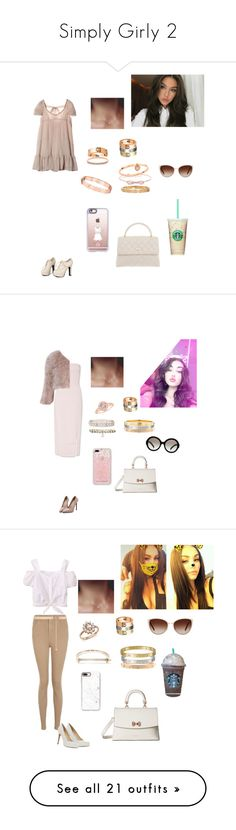 """""""Simply Girly 2"""" by mariaxl ❤ liked on Polyvore featuring Cartier, Sidewalk, Accessorize, Michael Kors, Louis Vuitton, Ted Baker, Casetify, Chanel, Oliver Peoples and Miss Selfridge"""