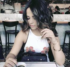 Becky G, Camisole Top, Tank Tops, Hair, How To Wear, Women, Fashion, Moda, Halter Tops