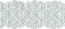 1 1/2'' White Netting Lace Beaded Trim, Lace Trim, Types Of Lace, Eyelet Lace, Pride, Lace Overlay