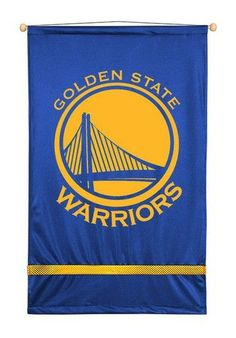 Golden State Warriors Home Decor Wall Hanging Banner