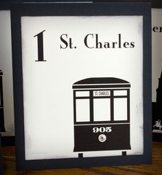 New Orleans landmark Table Numbers Seating Plans, Seating Plan Wedding, Wedding Table, Table Plans, Where The Heart Is, Silhouette Projects, Table Numbers, Nyx, New Orleans