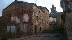 Calle de la Iglesia. Fontioso. Burgos.