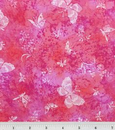 Keepsake Calico Fabric -Sundrenched Butterfly Dark Purple