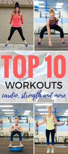 Top Workouts of 2016 http://www.pbfingers.com/top-workouts-2016/ A collection of boot camp workouts, at home workouts, bodyweight workouts, cardio, strength, treadmill workouts and more!