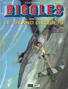 """Portada del volumen 3 de """"Le Grand Cirque"""" Trabajo enteramente realizado con acuarelas"""