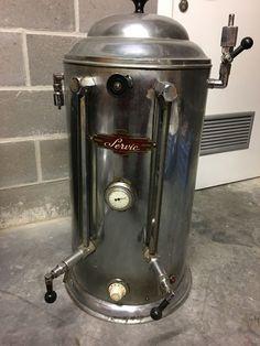 Online veilinghuis Catawiki: Antieke koffiezetapparaat uit 1950 +/-