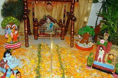 Incredible Krishna Janmashtami Decoration Pictures And Images Festivals Of India, Indian Festivals, Baby Krishna, Lord Krishna, Decorating With Pictures, Decoration Pictures, Janmashtami Decoration, Ladoo Gopal, Hindu Culture