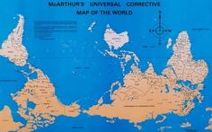 How the north ended up on top of the map. Early Egyptian maps show south as up. In medieval European maps, east replaced it. Now north is always on top. (Also thanks to Arts & Letters Daily.)