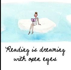 Books : reading is dreaming with open eyes Reading Meme, Girl Reading Book, Reading Books, My Books, Books To Read, Little Paris, Social Activities, Book Quotes, Book Worms