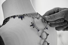 Ricochet necklace details #revesdailleurs #highjewelry #boucheron