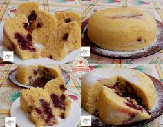 Joghurtos meggyes sütemény mikróban sütve Creative Cakes, Cake Recipes, Breakfast Recipes, Cheesecake, Muffin, Food And Drink, Sweets, Cookies, Foods