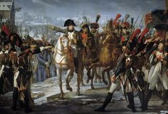 Napoleon I haranguing his troops before the attack of Augsburg by Claude Gautherot Napoleon Painting, Chateau De Malmaison, Battle Of Waterloo, Bravest Warriors, French History, War Image, Jean Baptiste, Fun World, Interesting Information