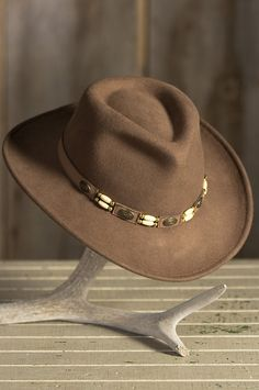 Overland Outback Crushable Wool Felt Cowboy Hat ad4c4f5fa94