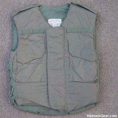 Original M-52 Flack vest for reference.