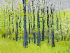 Spring Greens by Wolf Kahn