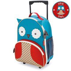 Skip Hop Zoo Little Kid Rolling Luggage