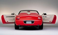 2001 Ford Thunderbird Sports Roadster Concept Car