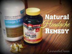 Livin' In The Green: Natural Headache Remedy