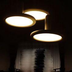 Modern Brief LED Pendant Lamp Creative Three-head Circle Acylic Dinging Room Bar Coffee Shop Pendant Light