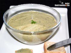 Crema de alcachofas para untar Sandwiches, Hummus, Dips, Appetizers, Ethnic Recipes, Foods, Gastronomia, Vegetarian, Microwaves