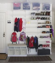 Clever Garage Organization Ideas (8)