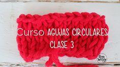 TEJER AGUJAS CIRCULARES: cerrar-rematar último punto CLASE 3