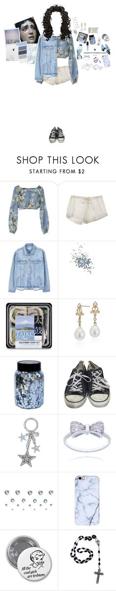 """happysad"" by katjq ❤ liked on Polyvore featuring Dondup, ESPRIT, Polaroid, Steven Alan, MANGO, Topshop, Blue Nile, CO, Converse and Michael Kors"