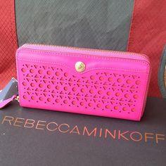 "Spotted while shopping on Poshmark: ""Rebecca Minkoff Large Zip wallet""! #poshmark #fashion #shopping #style #Rebecca Minkoff #Clutches & Wallets"