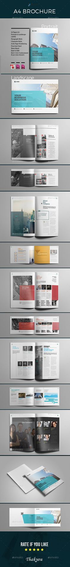A4 Indesign Brochure