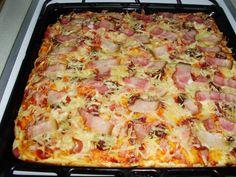 Garlic Bread, Hawaiian Pizza, Hamburger, Baked Goods, Snacks, Baking, Hot Dog, Drink Recipes, Appetizers
