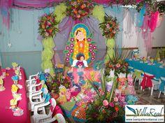 Salón de Laureles - Medellín Temática:Virgen de Guadalupe www.banquetesvillareal.com
