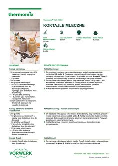 Koktajle mleczne Make It Simple, Food And Drink, Author, Lego, Cooking, Fit, Kitchen, Recipes, Thermomix