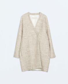 The coat you need for fall. #zara #zarawoman #coat #fallfashion #fashion