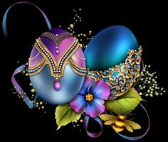 chomikuj.pl Easter Art, Easter Eggs, Happy Easter Wallpaper, Easter Bunny Pictures, Easter Illustration, Easter Backgrounds, Christmas Yard Decorations, Happy Birthday Images, Egg Art