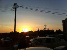 That sunset in Amman, JO