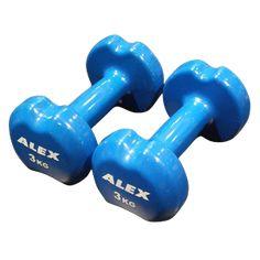 Alex AXDM05 Vinyl Dambıl 3kg