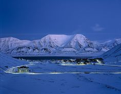 Longyearbyen, Svalbard, Norway: to my understanding, the nothernmost town in the world.