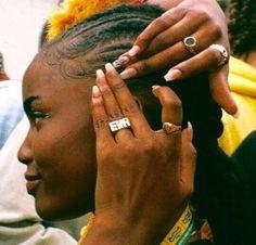 Pretty Black Girls, Black Girls Rock, Beautiful Black Women, Black Girl Magic, Brown Skin Girls, Brown Girl, I Love Being Black, Black Girl Aesthetic, Aesthetic Dark