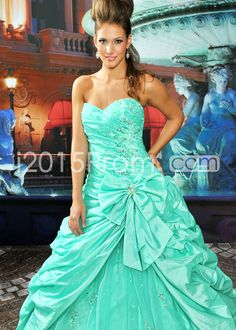 US $186.19 A-line Floor-length Strapless Evening/Prom Dresses