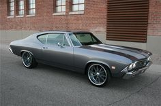1968 CHEVROLET CHEVELLE Lot 1322.2 | Barrett-Jackson Auction Company chevelle protouring grey silver