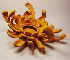 Flower - by Barbara Nanning of the Netherlands.