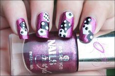 Casino Nail Art | How to: Roll the Dice nail-art ~ Beauty Before Breakfast
