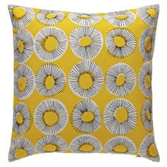 Habitat Evelyn Patterned Cushion 45 x 45cm at Homebase -- Be inspired and make your house a home. Buy now.