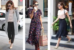 9 Celebrities With Killer Personal Style -  Eva Mendes Not only did she steal our imaginary boyfriend, she did it while looking gorgeous in clean, feminine silhouettes and her trademark retro sunglasses.   Read more: 9 Celebrities With Killer Personal Style - Slideshow | Fashion | PureWow National