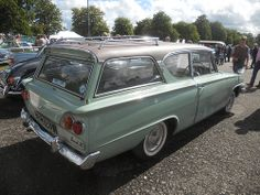 1964 Ford Consul 315 Estate Retro Cars, Vintage Cars, Antique Cars, 1960s Cars, Automobile, Ford Anglia, 1964 Ford, Old Classic Cars, Ford Fairlane