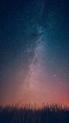 Milky-Way-Galaxy-From-Earth-Infinite-Stars-iPhone-Wallpaper - iPhone Wallpapers