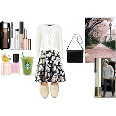 Spring date wit Harry by veronica-love-one-direction on Polyvore featuring Topshop, Boohoo, TOMS, Orla Kiely, With Love From CA, NARS Cosmetics, Bobbi Brown Cosmetics, Bellapierre, Clarins and Marc Jacobs