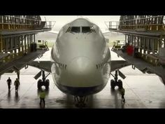 """British Airways Boeing 747-400 in D-Check - 747 like you have never seen it before - """"Engineering Giants"""" -  (747 Overhaul) - via YouTube"""